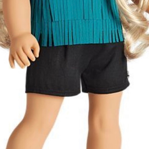 American Girl Tenney's Black Tour Shorts